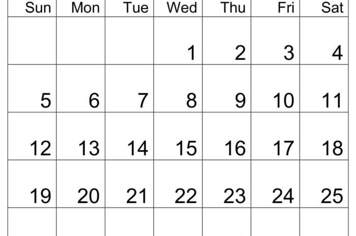 Download April 2020 Calendar By Month PDF