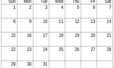 Cute March 2020 Calendar Template