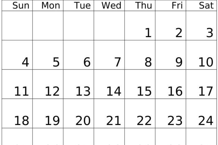 October 2020 Calendar For Portrait Template