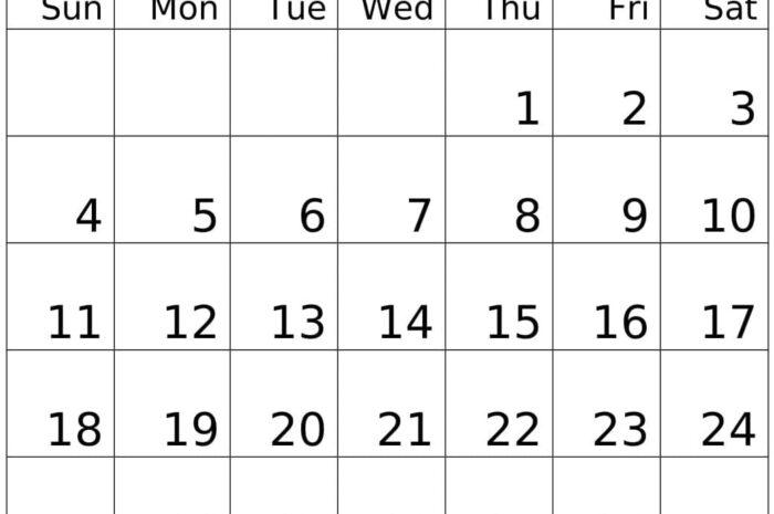 October 2020 Calendar Template Word, Excel, PDF