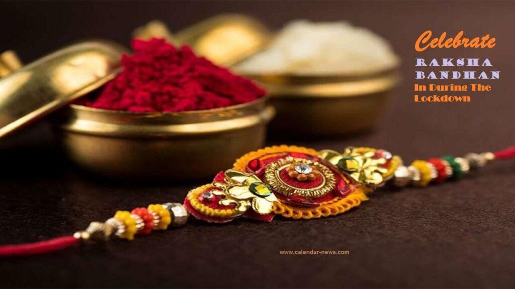 Raksha Bandhan Rakhi Design